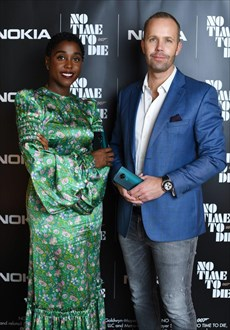 lashana lynch and Juho sarvikas