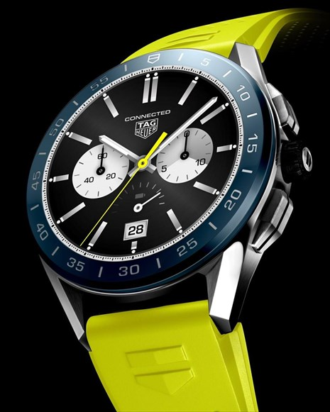 tag heuer nees ekdoseis tou polutelous connected watch