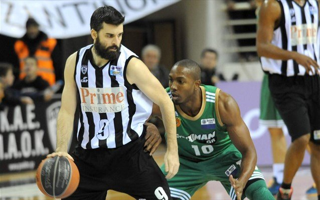 for Paok salonique basket