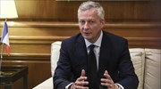 "French FinMin Le Maire to ""N"": Eurogroup decision for debt relief binding as long as Athens sticks to reforms"