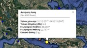 Light earthquake reported west of Athens
