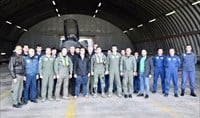 Greek PM tours air force combat group amid spike in Turkish military activity