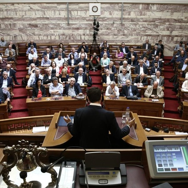 SYRIZA ex-minister during briefing by PM, FinMin: Why are we discussing a 'clean exit' if we need to cut pensions?