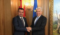 Zaev receives PPC CEO in Skopje after Greek utility purchases Skopje-based energy company