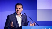 PM Tsipras praises role of all-important shipping sector in Greek economy