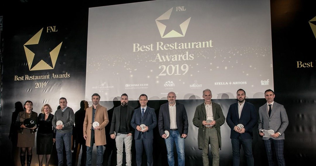 � � FNL Best Restaurant Awards 2019