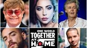«One World: Together At Home»: Μοναδική συναυλία στη μάχη κατά της πανδημίας