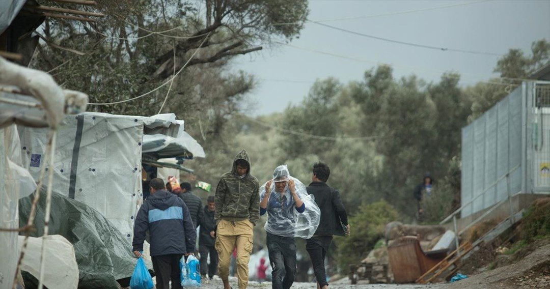 Another serious stabbing injury reported at Moria camp, days after homicide